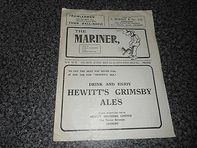 GRIMSBY TOWN  v  DERBY COUNTY  +  PORTSMOUTH  1936/7  JOINT ISSUE ***SCARCE****