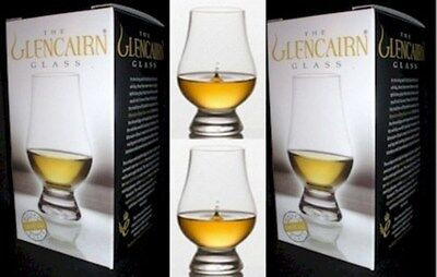 (2) Official Glencairn SCOTCH WHISKEY CRYSTAL Glasses