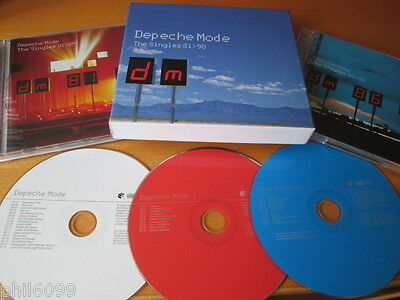 Depeche Mode - The Singles 81-98 3-Cd: Boxed Greatest Hits Very Best Of Nr Mint