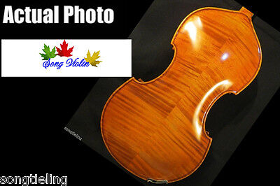 """Baroque style SONG Brand Master 16 1/2"""" viola,huge and powerful #8360"""