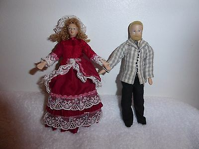 Dolls House Father And Mother Dolls