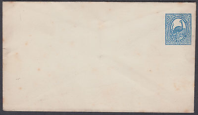 New South Wales One Hundred Years 2d blue Stationery Envelope; Unused; Australia