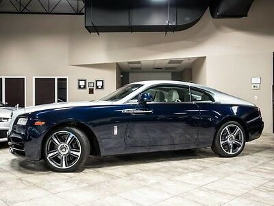 2014 Rolls-Royce Ghost Base Coupe 2-Door 2014 Rolls Royce Wraith Gorgeous Color Combo LOADED Serviced HIGH MSRP