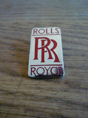 Rolls Royce, Pin Badge, Large, High Quality, Made In England