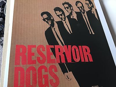 Original Reservoir Dogs Rolled One Sheet Movie Poster C9 Condition