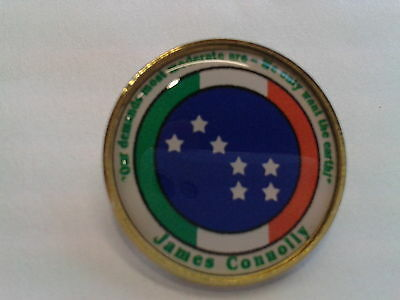 James Connolly Quote Irish Republican Brand New Badge.