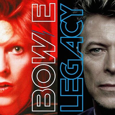 "David Bowie Legacy The Very Best Of New Ltd Vinyl 2Lp & 12"" Prints In Stock"