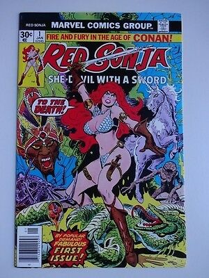 Red Sonja #1   High Grade  NM   First Issue    Andar   Frank Thorne