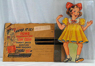 """""""Dancing Baby Snooks"""" Advertising Puppet From Tums With Mailer - 001"""