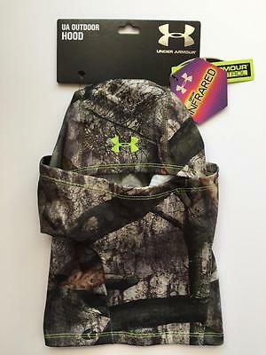 Under Armour CG Camo OSFA Neck Gaiter Hunting Scent Control Infrared Hood Mask