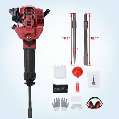 52CC Gasoline Jack Hammer Single Cylinder Petrol Demolition 2 Stroke Air Cooled