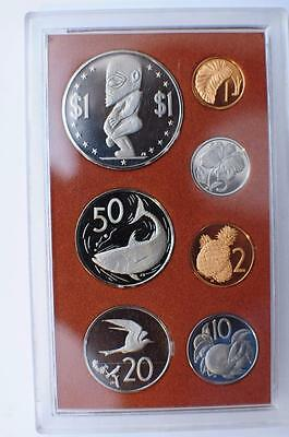 Artifacts and Symbols of The Cook Islands 7 Coin Set 1975 Cook Islands