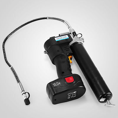 Grease Gun Cordless Rechargeable 18V Conditioner Indicator Lcd Battery Grip