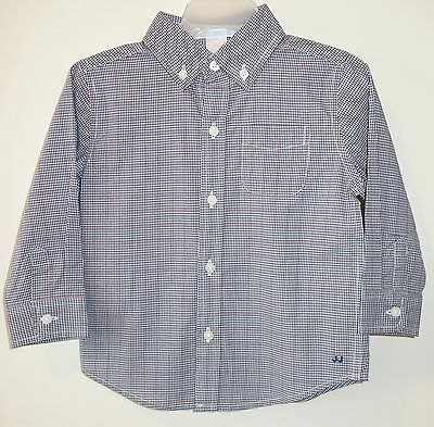 NWT Janie and Jack Car Classic Plaid Shirt~ Boy's Size18-24 Month