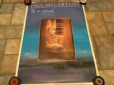 Paul McCartney Poster Off The Ground Poster 24 X 34 The Beatles