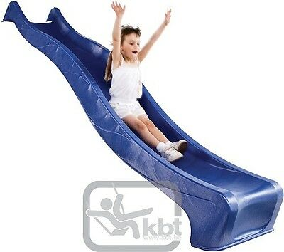 SLIDE KBT 1.5M PLATFORM BLUE Kids Cubby House Slide Water Playground Equipment