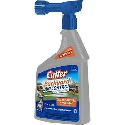 Cutter Backyard Bug Control Spray Concentrate (HG-61067) (32 fl oz) New