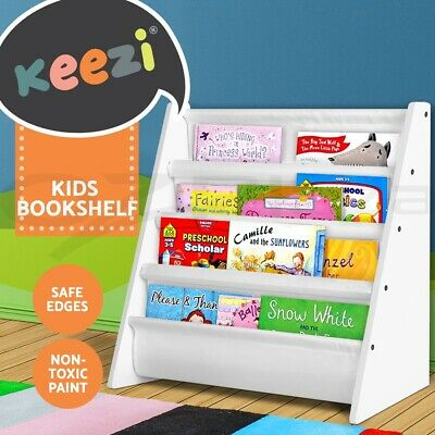 Kids shelf Children Bookcase Magazine Rack Bookshelf Display shelving