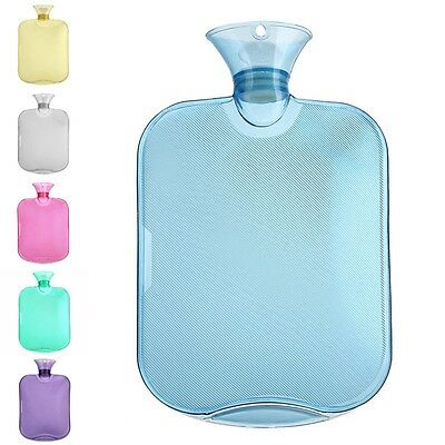 Newly Hot Water Bag Soild Color Clear PVC Bottle Children Office Lady Hand Warm