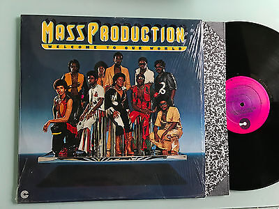 LP USA 1976 MINT  Mass Production – Welcome To Our World