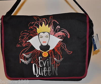 Evil Queen Messenger Bag Book Bag Tote Backpack Bag Snow White Disney Gift Schoo