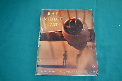 THREE books of WW2s RAF - The Middle East, Bomber Command & Coastal Command