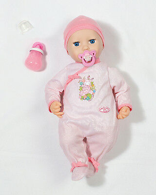 Zapf Baby Annabell Mia so Soft Puppe Stoffpuppe Spielzeug Kinder