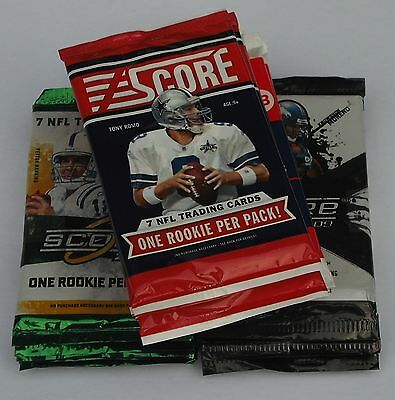Panini Nfl Score 2009 2010 2011 2013 Lot Of 24 Trading Card Packs New & Sealed
