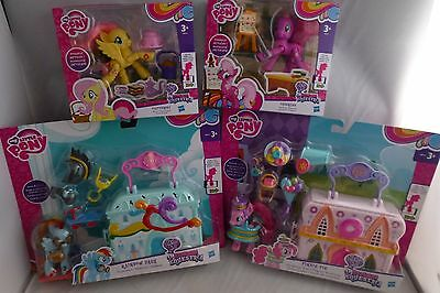 NEW - My Little Pony Bundle - Explore Equestria Figures & Playsets -
