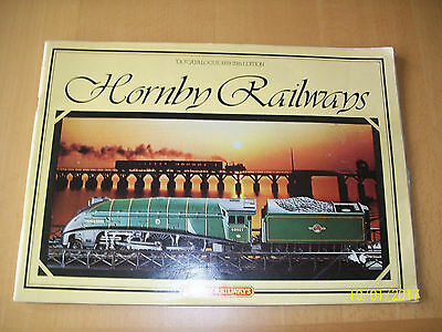 Large Hornby Railway Catalouge 25 Th Edition With Price List