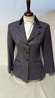 Tagg Maids Koln Rider Navy Tweed Riding Jacket sizes  28,30,32,34