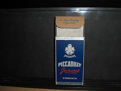 An Empty 10 Piccadilly Cigarette Packet