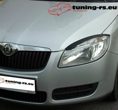 SKODA ROOMSTER CASQUETTES DE PHARES ABS tuning-rs.eu