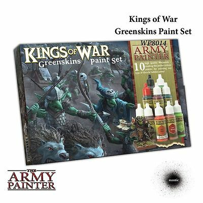 The Army Painter Greenskins Paint Set Kings Of War Brand New