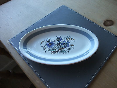 A Vintage 1960's Wood & Sons Oval Serving Plate