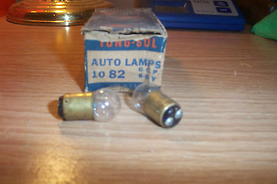 2 Nos Olds,pontiac,buick,cadillac,packard,lincol 1935-54 Dome/courtesy Bulbs #82