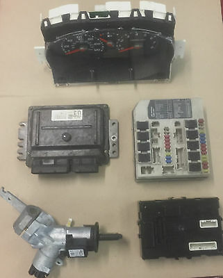 NISSAN MICRA 2003-2009  ECU KIT / SET / IGNITION 1.2 16v PETROL MEC32-040