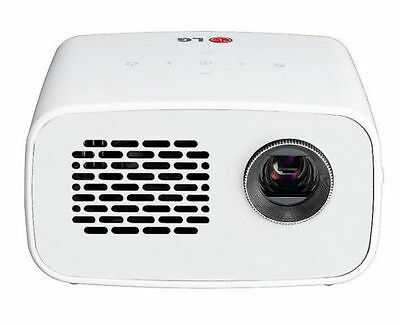 LG PH300w LED Minibeam Projector with Embedded Battery Built-in Digital TV Tuner