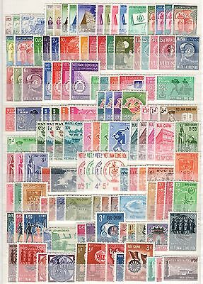 Aa13831/ Vietnam 1952 / 1972 Collection Neuve / Mint 580 €