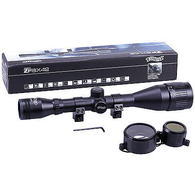 Walther 6x42 Rifle Scope PX AO Adjustable With 11mm Dovetail Mounts Hunting
