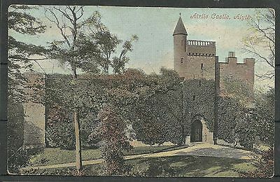 Postcard : Alyth Forfarshire Airlie Castle