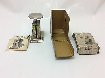 Vintage The Challenge Spring egg letter scales very small in original packaging