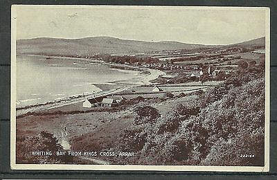 Postcard : Island of Arran Whiting Bay from Kings Cross