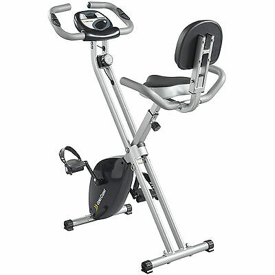 Gold Coast Foldable Exercise Bike With Pulse Reader | FREE 2 Year Warranty