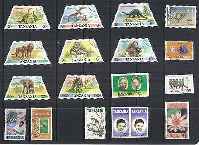 y484 Tanzania /  A Small Collection Early & Modern Used