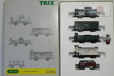 H0 1:87 Trix 23952 Freight cars Geislinger Steige era1 trains Germany scale