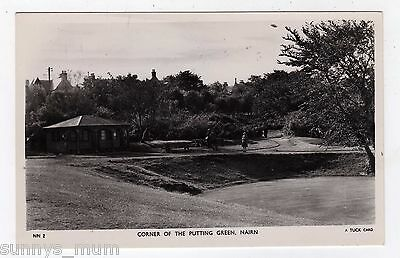 Scotland, Nairn, Corner Of The Putting Green, Golf, Rp