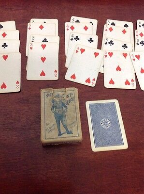 Antique Fauntleroy Complete Set Of Playing Cards In Box