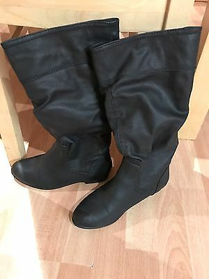 Women's Black Boots, Size 4uk, From Dorothy Perkins, Great Condition!