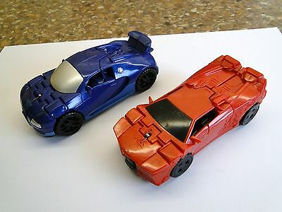 Transformers One Step Changers, Drift & Sideswipe Vehicles